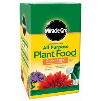 Miracle-Gro® Water Soluble All Purpose Plant Food, 3 Lbs