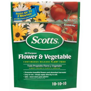 Scotts® All Purpose Flower & Vegetable Continuous Release Plant Food, 3 Lbs