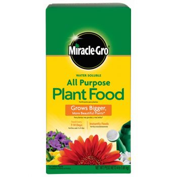 Miracle-Gro® Water Soluble All Purpose Plant Food, 4 Lbs
