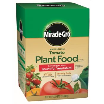 Miracle-Gro® Water Soluble Tomato Plant Food, 1.5 Lbs