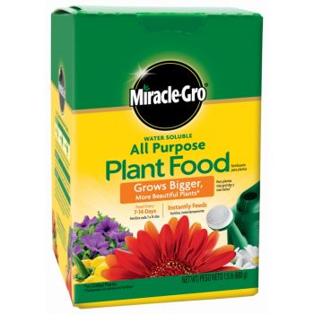 Miracle-Gro® Water Soluble All Purpose Plant Food, 1.5 Lbs