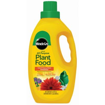 Miracle-Gro® Liquid All Purpose Plant Food Concentrate, 32 Oz