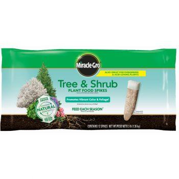 Miracle-Gro® Tree & Shrub Plant Food Spikes, 3 Lbs