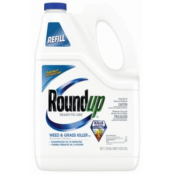 Roundup® Ready-To-Use Weed & Grass Killer III Refill, 1.25 Gal