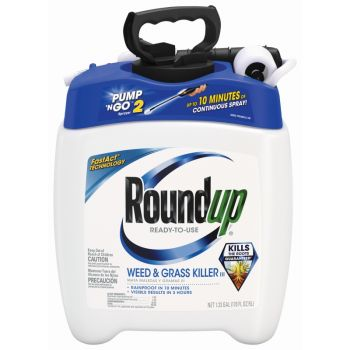 Roundup® Ready-To-Use Weed & Grass Killer III with Pump 'N Go® Sprayer, 1.33 Gal