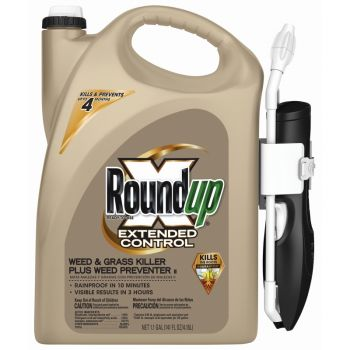 Roundup® Ready-To-Use Extended Control Weed & Grass Killer Plus Weed Preventer II with  Comfort Wand®, 1.1 Gal