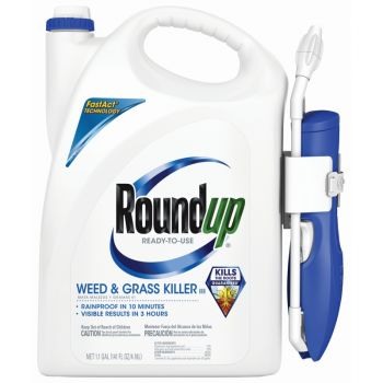 Roundup® Ready-To-Use Weed & Grass Killer III with Comfort Wand®, 1.1 Gal