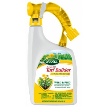 Scotts® Turf Builder® Liquid Weed & Feed, 32 Oz