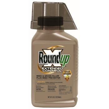 Roundup® Concentrate Extended Control Weed & Grass Killer Plus Weed Preventer, 32 Oz