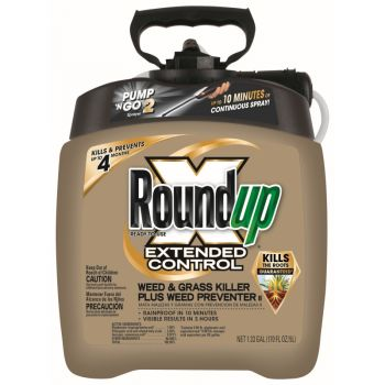 Roundup® Ready-To-Use Extended Control Weed & Grass Killer Plus Weed Preventer II in the Pump 'N Go® Sprayer, 1.33 Gal