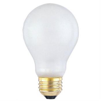 100 Watt A19 Incandescent Toughshell® E26 (Medium) Base, 130 Volt, Box