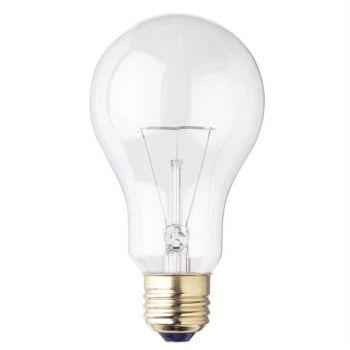 150 Watt A21 Incandescent Clear E26 (Medium) Base, 130 Volt, Box