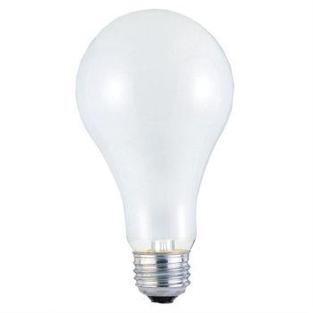 200 Watt A23 Incandescent Frost E26 (Medium) Base, 130 Volt, Box