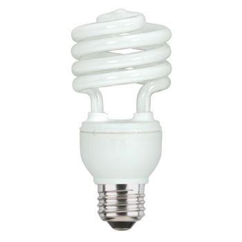 18 Watt Mini-Twist CFL Daylight E26 (Medium) Base, Box (4-Pack)