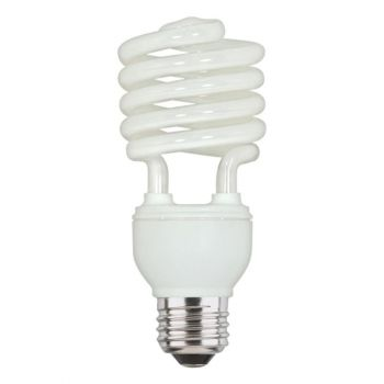 23 Watt Mini-Twist CFL Cool White E26 (Medium) Base, Box (4-Pack)