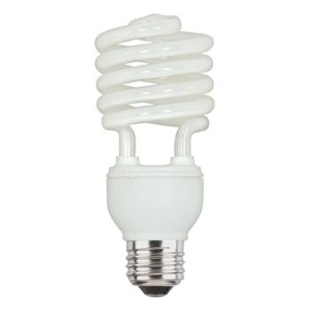23 Watt Mini-Twist CFL Daylight E26 (Medium) Base, Box (4-Pack)