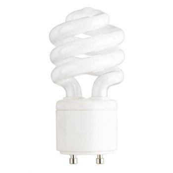 13-Watt Mini-Twist CFL Warm White GU24 Base