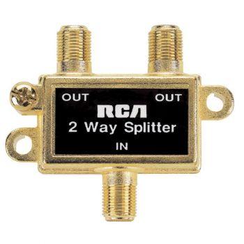 2 Way Coax Splitter