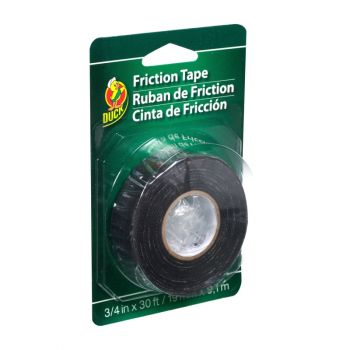 Duck® Brand Friction Tape - Black, .75 in. x 30 ft.