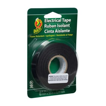 Duck® Brand Professional Electrical Tape - Black, .75 in. x 66 ft. x 7 mil.
