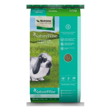 NatureWise 15% Premium Rabbit Pellet, 25 lbs