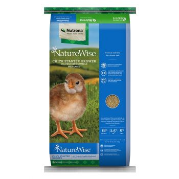 NatureWise Chick Starter Grower 18% Protein Crumble, 40 lbs