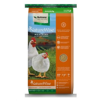NatureWise Meatbird 22% Crumble, 40 lbs