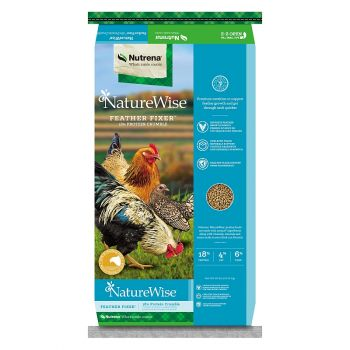 NatureWise Feather Fixer 18%, 40 lbs