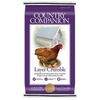Country Companion 16% Layer Crumble, 50 lbs
