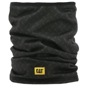 CAT Neck Warmer, Black Diamond Plate, OS