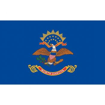 4' X 6' State of North Dakota Replacement Flag