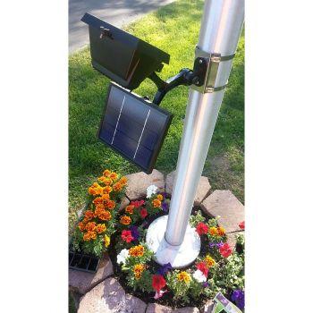 LED Solar Flag Pole Light