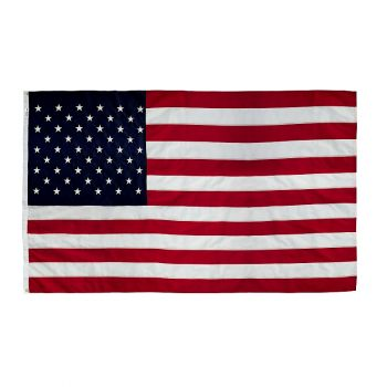 5' x 8' Sewn and Embroidered Nylon U.S.A. Replacement Flag