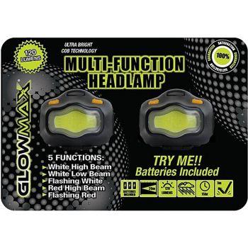 120 Lumen Multi Function Headlamp