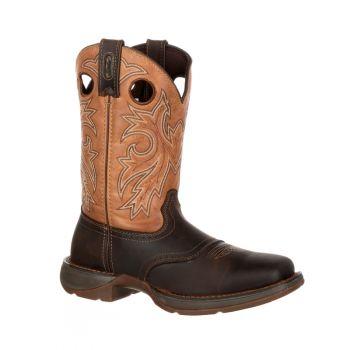 Rebel Steel Toe Waterproof Western Boot