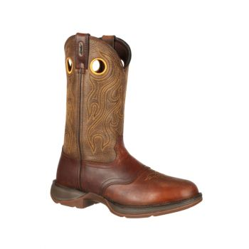 Rebel Brown Saddle Western Boot