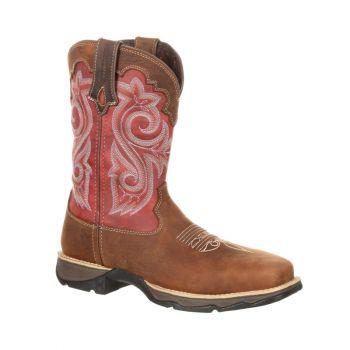 Lady Rebel Women's Waterproof Composite Toe Western Work Boot