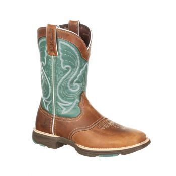 Lady Rebel Women's Steel Toe Western Boot