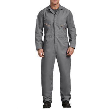Dickies Men's Deluxe Blended Coveralls, Gray, 2X