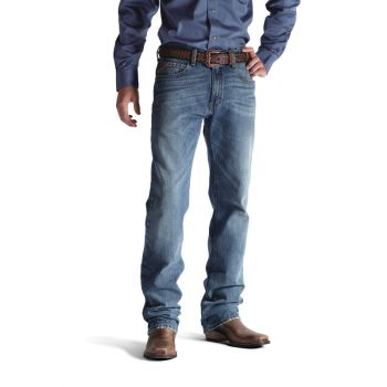 Men's M2 Relaxed Stackable Boot Cut Jeans – Granite