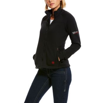 Women's FR Polartec Platform Jacket – Black