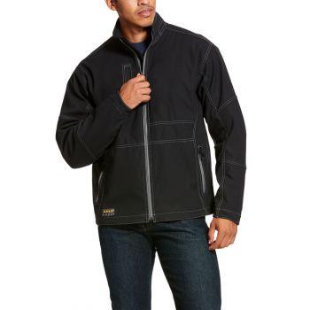 Men's Rebar Stretch Canvas Softshell Jacket - Field Khaki