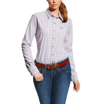 Women's FR Marion Work Shirt - Purple Noon