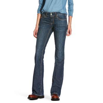 Women's FR Mid Rise Duralight Ella Boot Cut Jeans – Azurite