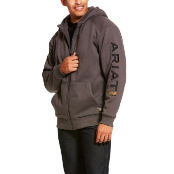 Men's Rebar All-Weather Full Zip Hoodie
