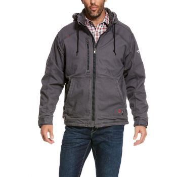 Men's FR Duralight Stretch Canvas Jacket - Iron Gray