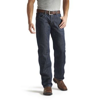 Men's FR M3 Loose Basic Straight Leg Jeans