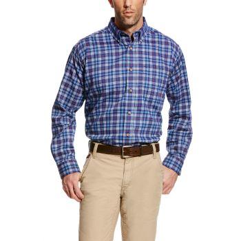 Men's FR Collins Work Shirt - True Blue
