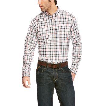 Men's FR Briggs Work Shirt - Grey Multi
