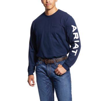 Men's FR Pocketed Logo T-Shirt
